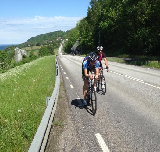 km olympisk cykel